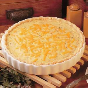Cheeseburger Quiche Recipe