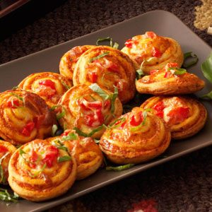 Pinwheel Pizza Snacks Recipe