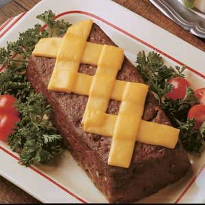 Crisscross Meat Loaf Recipe