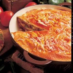 Enchilada Torte Recipe