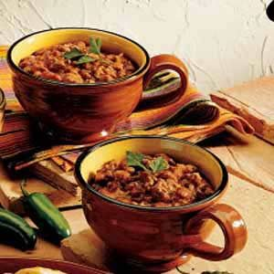 Quick Chili Recipe photo by Taste of Home