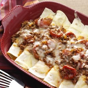 Fold-Over Tortilla Bake Recipe