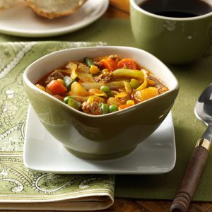 German Vegetable Soup Recipe