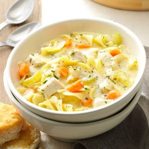 Soupy Chicken Noodle Supper