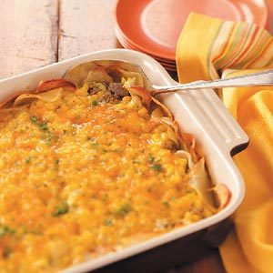 Meat-and-Potato Casserole Recipe