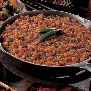 Spanish Rice with Ground Beef Recipe