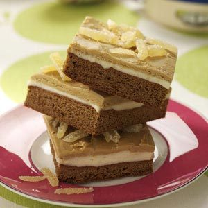 Layered Gingerbread Bars