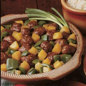 Yummy Sweet 'n' Sour Meatballs Recipe