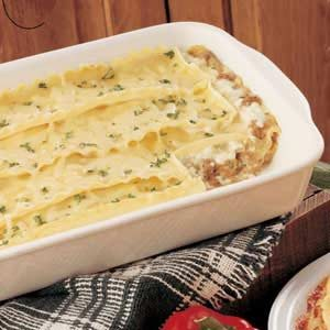White Sauce Lasagna Recipe