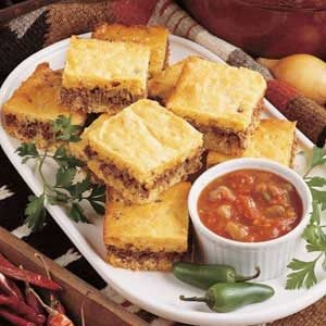 Zesty Beef Corn Bread Dinner