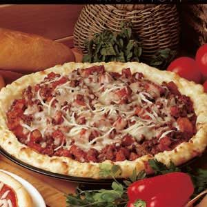 Zesty Potato Pizza Recipe