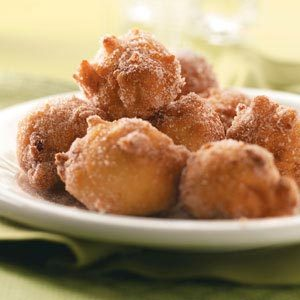 Sugary Apple Fritters Recipe