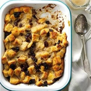 Bread Pudding with Nutmeg Recipe