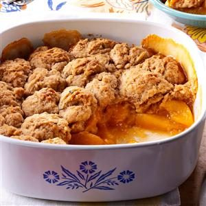 Peach-Rosemary Cobbler Recipe