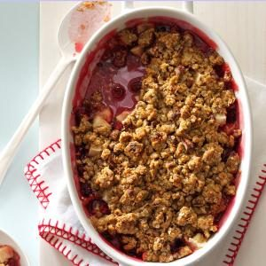 Cranberry-Apple Nut Crunch Recipe