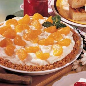 Easy Mandarin Orange Cheesecake Recipe