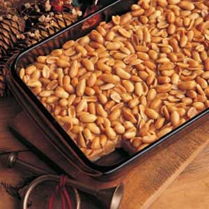 Salted Nut Squares Recipe