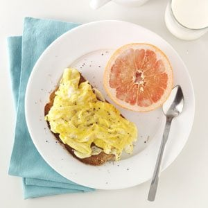 Open-Faced Egg Sandwiches