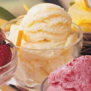 Lemon Orange Ice Cream Recipe