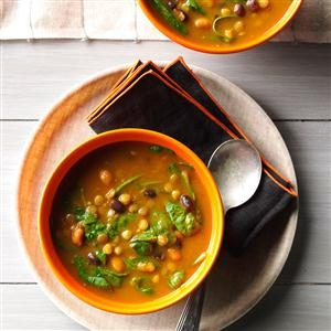 Pumpkin-Lentil Soup Recipe
