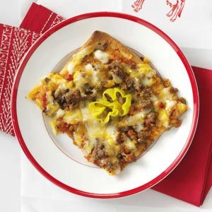 Kid-Tested Cheeseburger Pizza