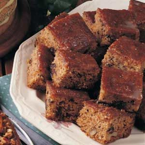 Prune Cake with Glaze