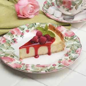 Royal Raspberry Cheesecake Recipe