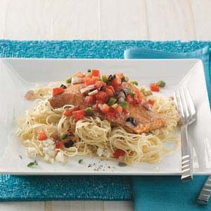 Mediterranean Roasted Salmon Recipe