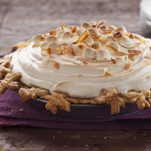 Sweet Potato Coconut Pie with Marshmallow Meringue Recipe