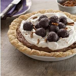 Sweet & Salty Truffle Pie Recipe