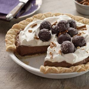 Sweet & Salty Truffle Pie Recipe