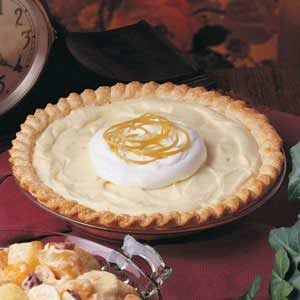 Yogurt Lemon Pie Recipe