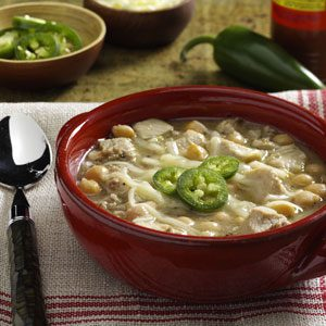 Turkey White Chili Recipe photo by Taste of Home