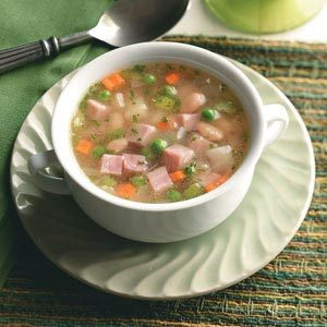 Ham, Bean and Potato Soup Recipe