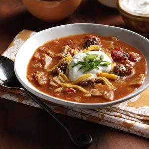 Zesty Tortilla Soup Recipe