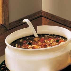 Country Vegetable Soup Recipe