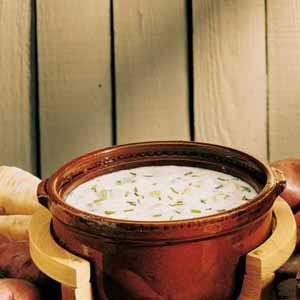 Sour Cream Potato Soup Recipe