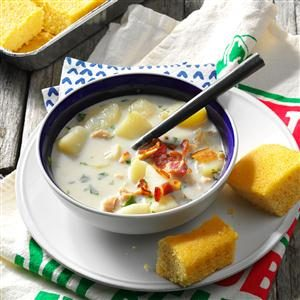 Potato Clam Chowder Recipe