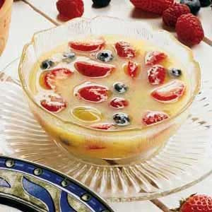 Summer Fresh Fruit Soup Recipe