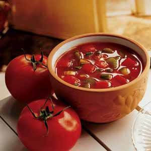 Low-Fat Gazpacho