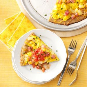 Hawaiian Breakfast Pizza Recipe