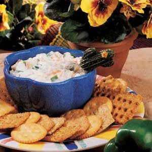 Crunchy Vegetable Dip Recipe