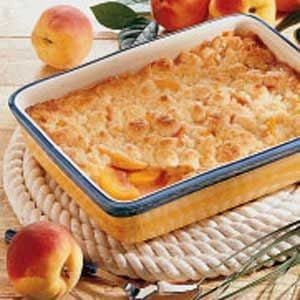 Colorado Peach Cobbler Recipe