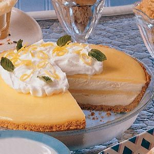 Frosty Lemon Pie Recipe