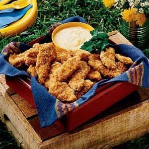 Sesame Chicken Strips Recipe