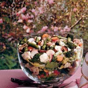 Garden Layered Salad Recipe