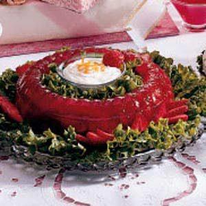 Rosy Rhubarb Mold Recipe