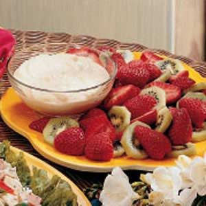 Yogurt Fruit Dip Recipe