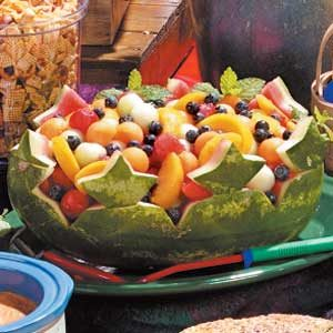 Watermelon Boat Recipe