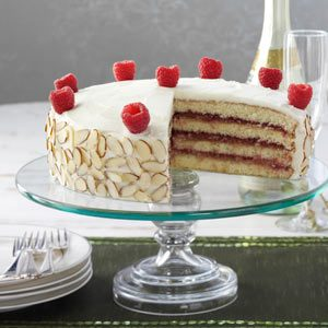 Almond Raspberry Torte Recipe